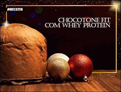 Receita de Panetone Fit com Whey Protein