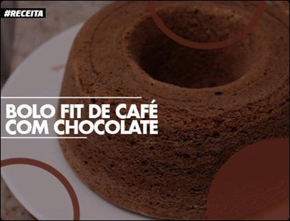 Receita de Bolo Fit de Café com Chocolate