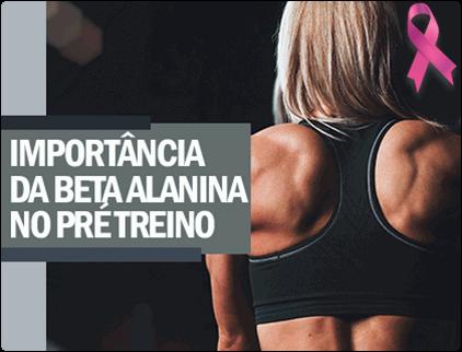 Artigo: A Importância de Beta Alanina no Pré-Treino