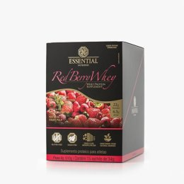 Red Berry Whey Display - 510g/ 15 sachês