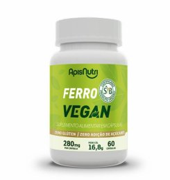 Ferro Vegan 280mg (60 caps)