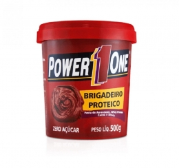 Pasta de Amendoim com Brigadeiro Proteico (500g) Power One