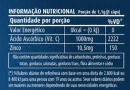 vitamina c zinco